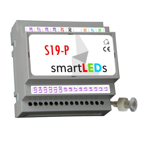 smartLEDs S19 Premium – intelligent, sequential LED lighting stair controller  (LED WAVE)